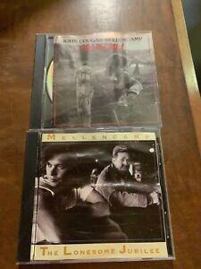 4 JOHN COUGAR/MELLENCAMP CDS-UH HUH-AMERICAN FOOL-CUTTIN