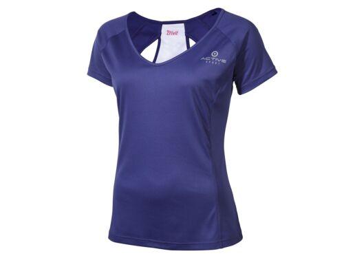 Crivit Damen Funktionsshirt Shirt fitness kurzarm  Ideal für alle Laufsportarten