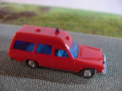 1//87 Wiking MB 200 Binz Krankenwagen Feuerwehr 607