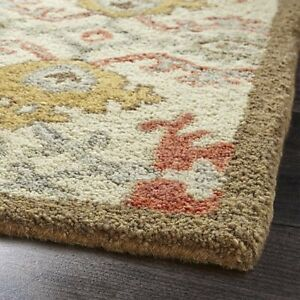 Old-Hand-Made-Traditional-Orang-Persian-Heritage-Oriental-Wool-Area-Rug-amp-Carpet