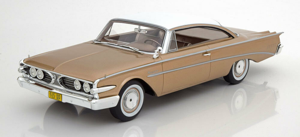 1960 Ford Edsel Ranger Hardtop golden by BoS Models LE of 252 1 18 Scale New
