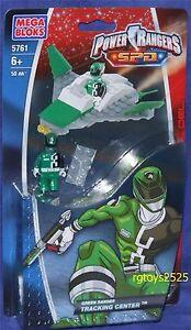 Power Rangers Mega Bloks Green Ranger Tracking Center New 5761