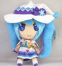 New Japan Anime Vocaloid Miku Hatsune Magical Snow Yuki Miku Plush Soft Doll Toy
