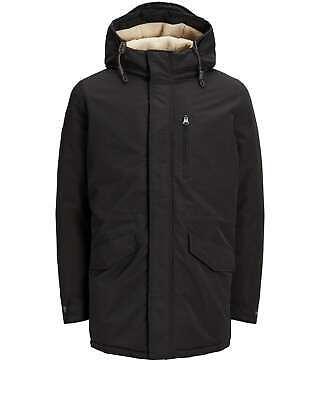 Lumberjack Field Jacket CM37821 Man Coat Hood blu