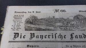 1842 Landbötin 66/munich Ua Kitzingen Perlesreut Kellberg Chez Passau-afficher Le Titre D'origine