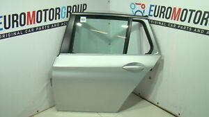 BMW-OEM-Porta-Posteriore-Sinistro-Argento-Titanio-Metallizzato-5-039-F11-LCI