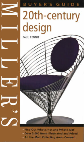 1 of 1 - 20TH CENTURY DESIGN Buyers Guide, Rennie, Millers, 1840006943, (20th C Antiques)