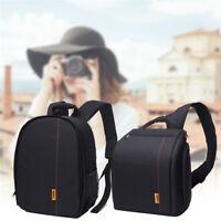 Waterproof Digital Camera Backpack Shoulder Bag Case for DSLR Canon Nikon Sony