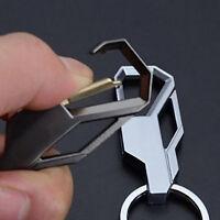 Mens Creative Alloy Metal Keyfob Gift Car Keyring Keychain Key Chain Ring SW