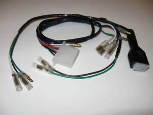 honda z50 wire harness k2 1971 mini trail z 50 ebay rh ebay com Honda Engine Harness Honda Engine Harness