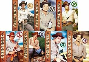 Cheyenne Complete Season 1 7 Dvd Set Series Collection Tv Show Box