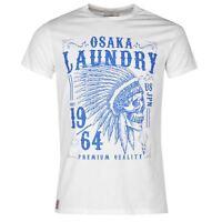 Osaka Laundry Headdress Crew T-Shirt Herren - weiß - Größe XL