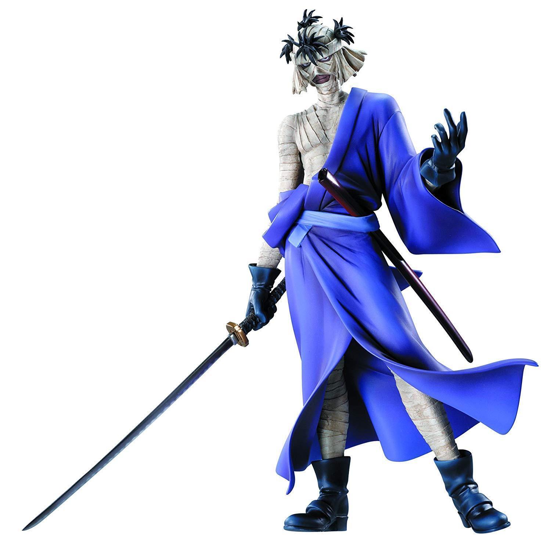 [New] MegaHouse Samurai X Rurouni Kenshin Shishio Makoto Gem PVC Japan