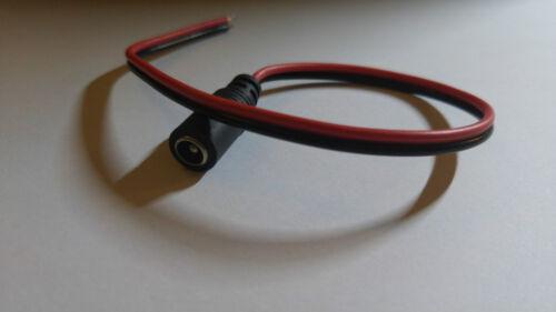connecteur jack femelle 12 v camera led alimentation