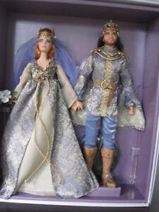 Jour de mariage au royaume des fées Barbie Lointain Royaume Mattel Sammlerbarbie Collector