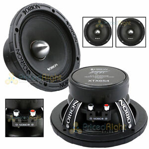 2 Orion Audio 1400 W Watt 6.5\