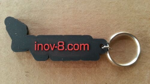 Various Colors *NEW* Inov8 Running Shoes Rubber Key Chain Great Inov-8 Swag