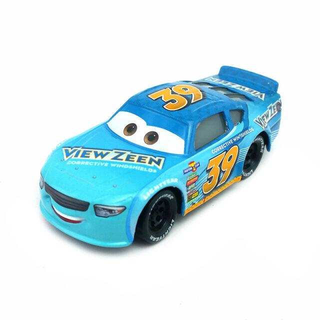 Mattel Disney Pixar Cars 3 No 39 Buck Bearingly Toy Car Diecast 1 55