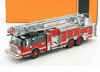 105 RM Smeal-Spartan Fort Worth Fire Department Ladder Car USA 1:43 Altaya IXO