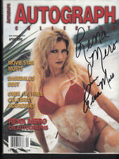 Rena Mero AKA Sable WWE Diva signed April 2000 Autograph Collector Magazine