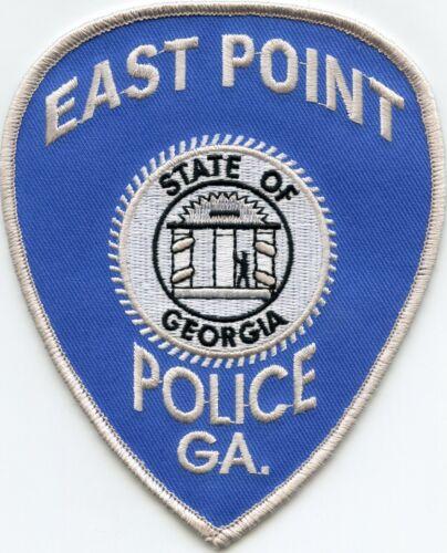 EAST POINT GEORGIA GA white border POLICE PATCH