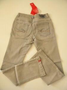 Taille Cl Gris By Basse Stretch Edc Jeans Pantalon Ajustable Esprit PZqp60