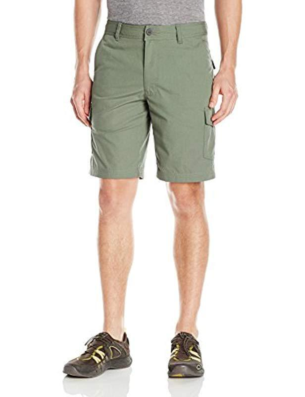 COLUMBIA Men's Montgomery Park Big Shorts Cypress Green Khaki Size 42 NWT