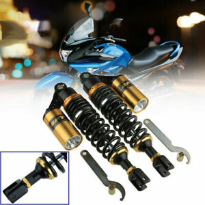 2pc-340mm13-034-Motorcycle-Shock-Absorbers-Clevis-End-Fork-For-Honda-CT70-Universal