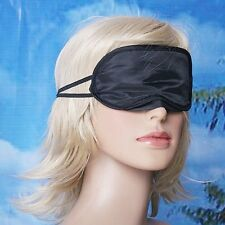 █▬█ █ ▀█▀►Masque de nuit cache sommeil relaxation loup effet soie neuf DOUX