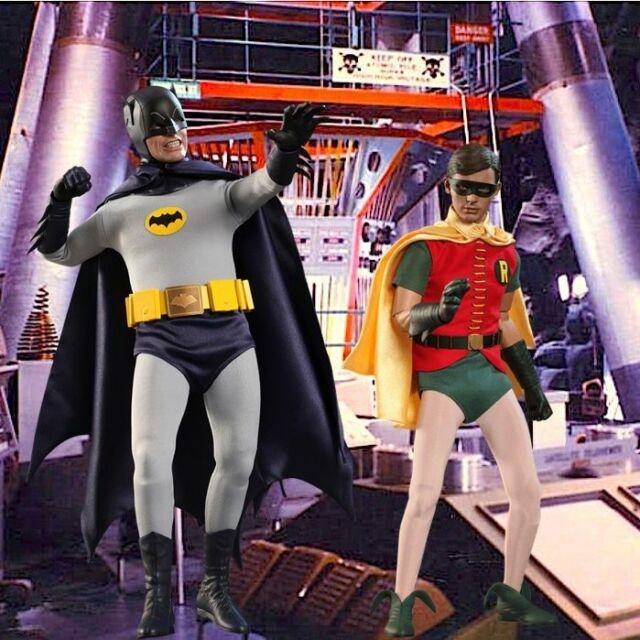 BATMAN 1966 TV SERIES 3 ;BATMAN 8 INCH ACTION FIGURE ;NEW IN  POLYBAG ADAM WEST