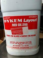 1 Gallon Dykem Layout Red Dx 296