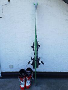 Ski-sets Sport Energisch Ski Set 165cm Head I.magnum Super Shape Skischuhe 43 Eleganter Auftritt