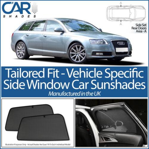 AUDI A6 AVANT 2004-2011 CAR SHADES UK TAILORED UV SIDE WINDOW SUN BLINDS