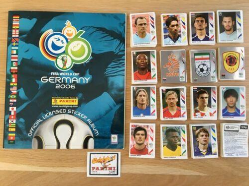 Album vide set complet World cup 2006 coupe du monde germany panini sticker