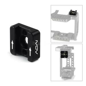 1-4-034-Cold-Shoe-Mount-for-DSLR-Rig-Flash-LED-Light-Cinema-Camera-Cage-Microphone