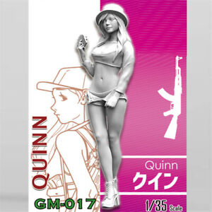 1-35-Modelo-de-Resina-Quinn-chicas-en-accion-Kits-Sin-Pintar-GK-sin-montar