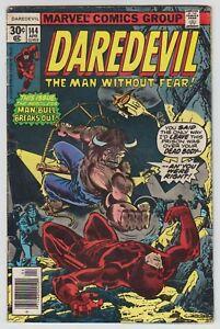 L8439: Daredevil #144, Vol 1, VG Condition