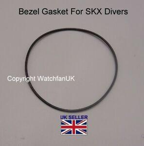 Gasket Set For Seiko 7S26-0040 SKX031 Caseback Bezel Crown
