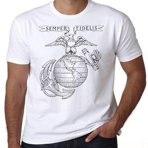 6b3c7da9 USMC US Marines Semper Fidelis Fi Eagle Globe and Anchor PT Military ...