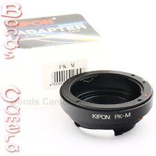 Kipon Pentax K PK mount lens to Leica M L/M Adapter M9 M9P M-E 240 Ricoh GXR A12