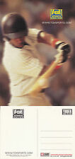 FOX SPORT ONLINE CHANNEL UNUSED ADVERTISING COLOUR  POSTCARD