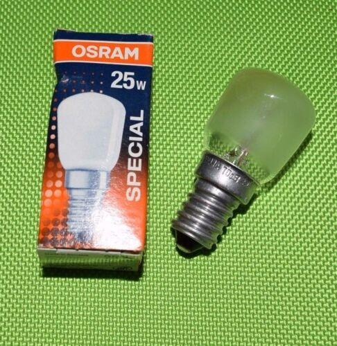 Osram Kühlschranklampe SPECIAL T//FRIDGE E14 25W Birnenform matt 402