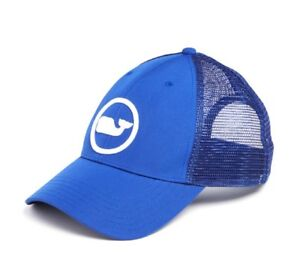 Vineyard Vines Whale Dot Performance Trucker Hat Cap  34 Spinnaker ... 6ea52ad8ee7
