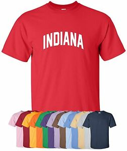 New-034-Indiana-034-T-Shirt-S-4XL-30-Colors-hoosiers-state-indianapolis-indy-colts