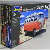 Revell 1:24 07399 VW T1 Samba Bus Model Car Kit