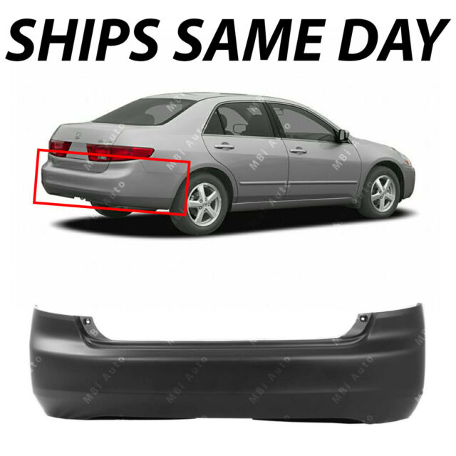 2005 honda accord rear bumper cover