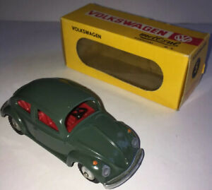 COLLECTIBLE-METOSUL-5-VW-VOLKSWAGEN-GREEN-BOXED