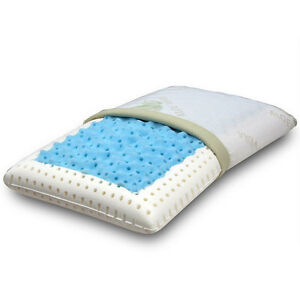 Materassi Memory Foam Con Gel Rinfrescante.Details About Cushion Pillow Memory Foam With Inset Polar Gel Fresh And Refreshing Show Original Title