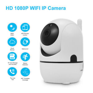 1080P HD IP Wireless Security Camera Home Smart Wifi System Baby Monitor IR 32G