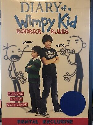 Diary Of A Wimpy Kid Rodrick Rules Dvd 24543720041 Ebay
